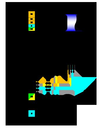 Схема подключения приточной установки Колибри 700 Zentec