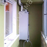 Приточная установка ПВУ-350 на балконе. ЭлитКлимат