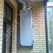 Приточная установка ПВУ-500 на балконе. ЭлитКлимат