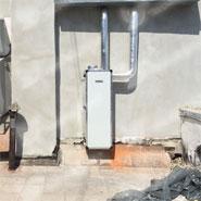 Приточная установка ПВУ-350 на улице. Здоровый воздух