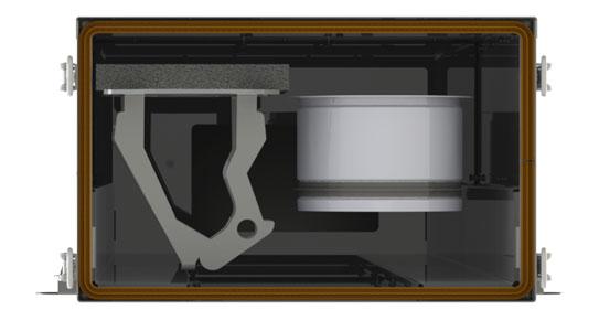 Демонтаж основного монтажного крепления на V-STAT FKO