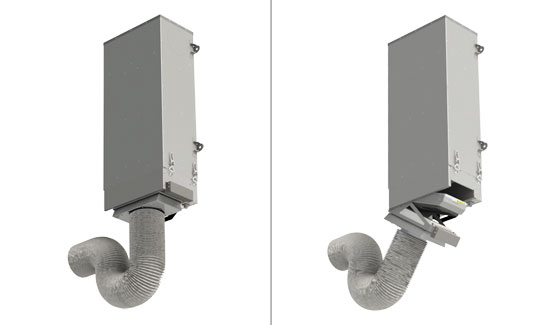 Замена фильтра с подключенным адаптером на V-STAT FKO